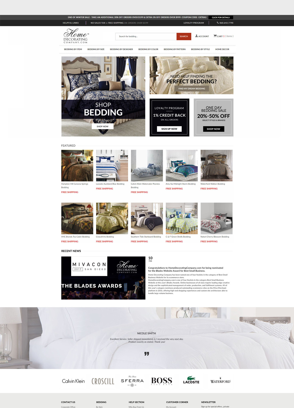 Ecommerce Development for Home Decorating Company | Fan and Fuel